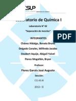 Informe de Quimica II Ka