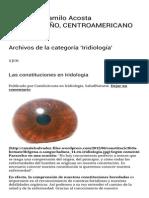 Iridiología _ El Blog de Camilo Acosta _ Página 2
