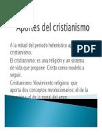 El Cristianismo y La Escolastica 2