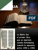 La Biblia Palabra de Dios a Los Hombres