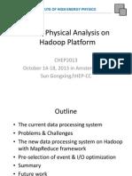 BESIII-Hadoop-PhyAnalys