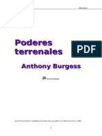 Anthony Burgess, Poderes Terrenales (1980).Doc