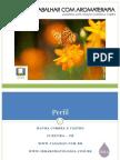 Estudar e Trabalhar com Aromaterapia