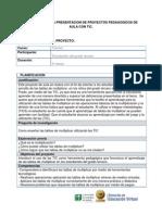 Formato Proyectos de Aula Proyecto Lucero Tic Presentacion Inicial (4) Dic 10