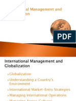 International Management and Globalization