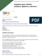 Fabricación de máquinas para calzado_ automáticas, neumáticas, lijadoras, colectores - Lima Callao - Comercio - Industria - AV