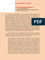 Mariátegui - Punto de Vista Antiimperialista (1929)