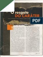 o Resgate Do Carater Por Fabio Apollinario