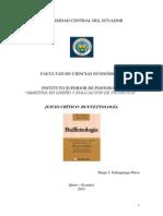 Imbaquingo, D. - Buffettología