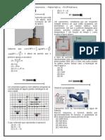 Simulado 10 (Mat. 3ª Série - EM) Aprofundamento 2013