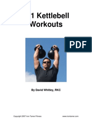 101 Kettlebell Workouts pdf | Kettlebell | Strength Training