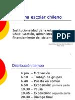 2013.El Sistema Escolar Chileno