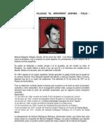 MANUEL DELGADO VILLEGAS EL ARROPIERO (ESPAÑA - ITALIA - FRANCIA)