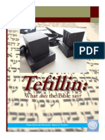 Tefillin, What does the Bible say?