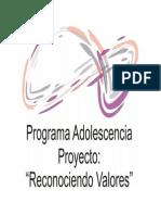 Manual Programa Adolescencia CD