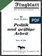 Bekker Politik Und Geistige Arbeit _text.pdf