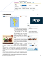 America Andina Brasil Escola