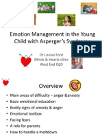Short Presentation on Emotion Management for Child with Asperger