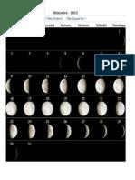 Faxes Lunares Diciembre 2013