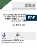 Certificado Sebrae II