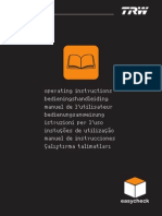 Manual de instruções 4.0.0 TRW