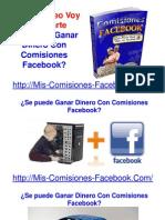 Se Puede Ganar Dinero Con Comisiones Facebook