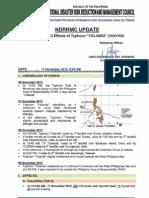 NDRRMC UP Sitrep No12 re Effects of TY YOLANDA 111113.pdf