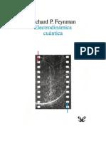 175405190 Feynman Richard Electrodinamica Cuantica
