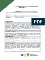 Proyecto-11-BIBLIOTECA VIRTUAL TAJAMARISTA – LIBROS ELECTRONICOS MEDIANTE LA PUBLICACIÓN DE DOCUMENTOS EN BLOGS