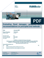Evaluacion de daños por inundacion Flood Site
