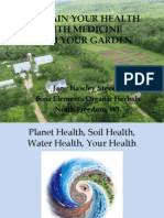 SUSTAIN YOUR HEALTH WITH MEDICINE FROM YOUR GARDEN health.pptx