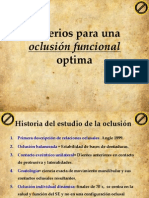 Oclusion Funcional Optima