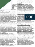 GLOSARIO DE TÉRMINOS AMBIENTALES