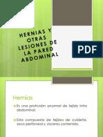 Hernias y Otras Lesiones de La Pared Abdominal