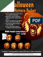 Wildlife Pumpkin Pattern Packet