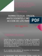 Trabajo Exposición Inv. Bibliografica (Farmacologia. Origen, antecedentes y modos de accion)(Expo)