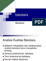 Annalisa Kualitas dan Basis Data