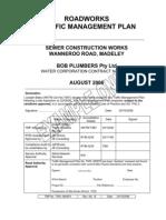 Traffic Management Plan (TPM) example
