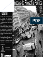 Primeras Jornadas de Filosofía Política. Filosofía Política y Libertad. 27 y 28 de Octubre 2009