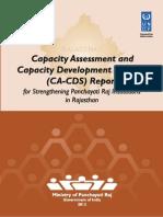 CA CDS Report Rajasthan