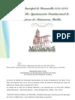 Plan Municipal de Desarrollo MATAMOROS