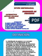 Distribución de Planta Unidad 3 Tema 2