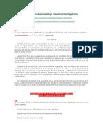 Elaboración de resúmenes y cuadros sinópticos Y TODOS LOS DEMAS