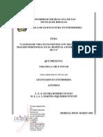 CALIDAD DE VIDA EN PACIENTES CON TRATAMIENTO DE DIALISIS PERITONEAL 2013