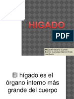 Presentacion de Higado Clase de Patologia