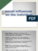 social influences presentation1