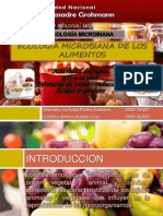 Ecologia Microbiana de Los Alimentos Parte II