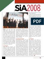 eASiA 2008 - Event Report