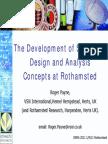 Development of Statistics