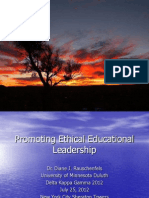 nyc promoting ethical educational leadership ppt final